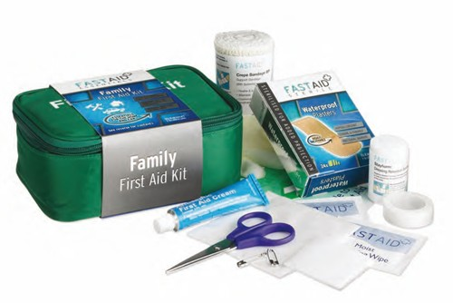 Fast Aid Family First Aid Kit (6 kits)